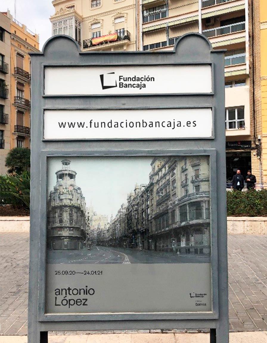 Mupi Fundación Bancaja